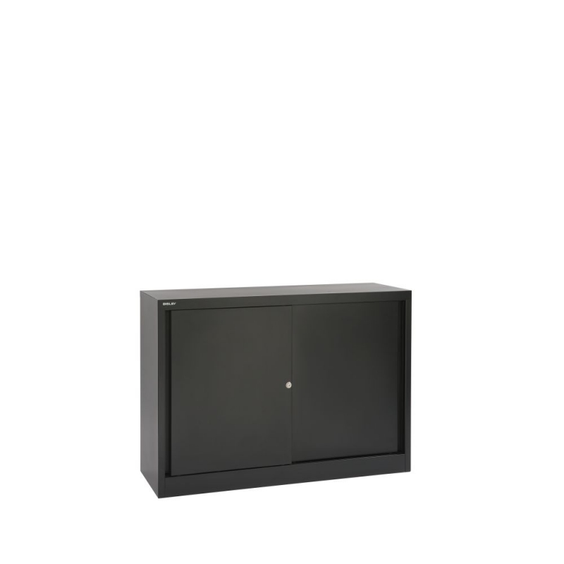 Bisley SD412081S Schiebetürenschrank 839 x 1200 x 430 (HxBxT in mm)