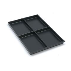 Bisley 223P1800 DIN A4 Schubladeneinsatz H 22 mm 4 Fächer