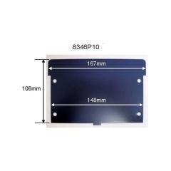Bisley 8346P10833 Karteischrank Karteistützen aus Stahl für B64