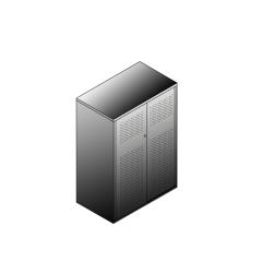Bisley BG20834PDSBST Schiebetürenschrank 1149-1173 x 800 x 470 (HxBxT in mm)