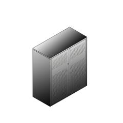 Bisley BG21034ADSBST Schiebetürenschrank 1149-1173 x 1000 x 470 (HxBxT in mm)