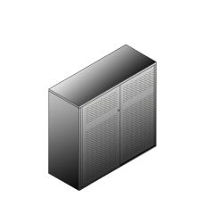 Bisley BG21234PDSBST Schiebetürenschrank 1149-1173 x 1200 x 470 (HxBxT in mm)