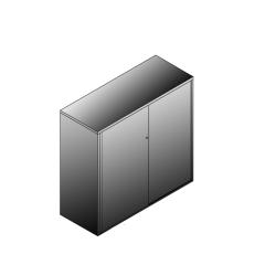 Bisley BG21234SDSBST Schiebetürenschrank 1149-1173 x 1200 x 470 (HxBxT in mm)