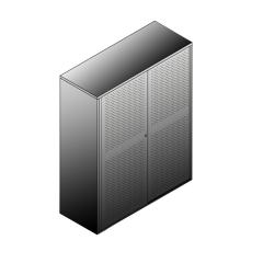 Bisley BG21246ADSBST Schiebetürenschrank 1529-1553 x 1200 x 470 (HxBxT in mm)