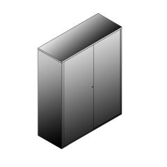 Bisley BG21246SDSBST Schiebetürenschrank 1529-1553 x 1200 x 470 (HxBxT in mm)