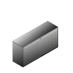 Bisley BG21621ADSBST Schiebetürenschrank 743-751 x 1600 x 470 (HxBxT in mm)