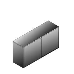 Bisley BG21623SDSBST Schiebetürenschrank 807-831 x 1600 x 470 (HxBxT in mm)