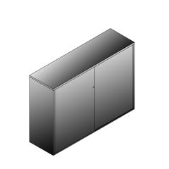 Bisley BG21634SDSBST Schiebetürenschrank 1149-1173 x 1600 x 470 (HxBxT in mm)