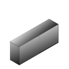 Bisley BG22023ADSBST Schiebetürenschrank 807-831 x 2000 x 470 (HxBxT in mm)
