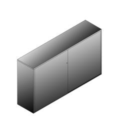 Bisley BG22034SDSBST Schiebetürenschrank 1149-1173 x 2000 x 470 (HxBxT in mm)