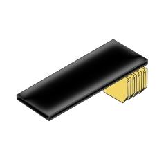 Bisley BIT08BSUPS833 Fachboden mit Lateralhängevorrichtung für Rollladenschrank B 800 mm