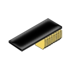 Bisley BIT08SSUPDPS833 Fachboden mit Schlitzen und Lateralhängevorrichtung für Rollladenschrank B 800 mm