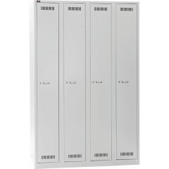 Bisley LIGHT GL12Q1245 Garderobenschrank 1850 x 1200 x 500 (HxBxT in mm) - Expressartikel