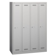 Bisley ML11Q1 Garderobenschrank 1700 x 1183 x 500 (HxBxT in mm) - Expressartikel