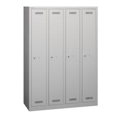 Bisley ML11Q1 Garderobenschrank 1700 x 1183 x 500 (HxBxT in mm)