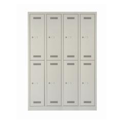 Bisley ML11Q2 Garderobenschrank 1700 x 1183 x 500 (HxBxT in mm)