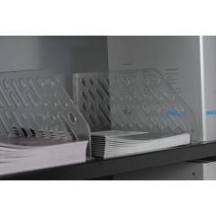 Bisley SHDV64P5PS Fachbodenteiler aus Kunststoff für Fachboden mit Schlitzen